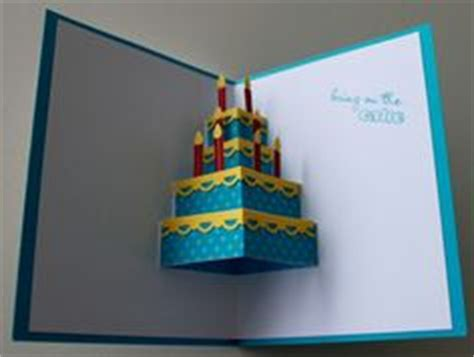 3d pop up birthday cake card template 1000 ideas about 3d cards on card kit swing