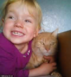 Sparkle anderson three caught meningitis from her mother s pet cat