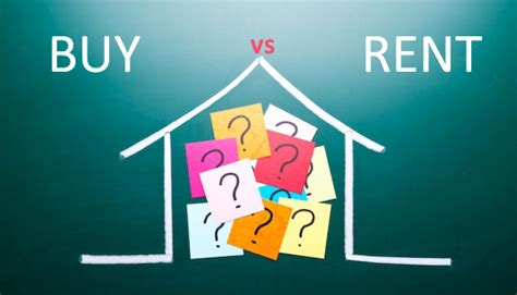 buy or rent house which is better buying or renting a property