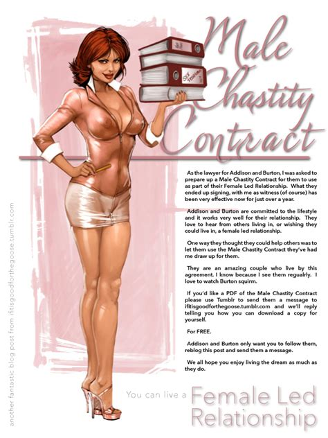 sissy maid contract from cb female lead relationship pinterest femdom
