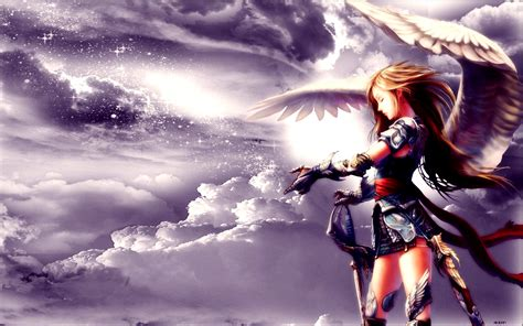 wallpaper anime angel angel wallpaper and background image 1280x800 id 109487