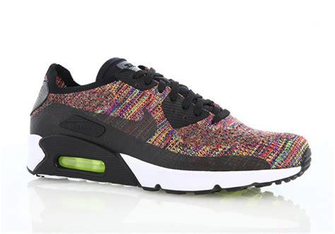 nike air max 90 colour nike air max 90 flyknit multi color 875943 002