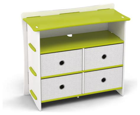Child S Dresser by Frog 36 Quot Dresser Lime Green And White