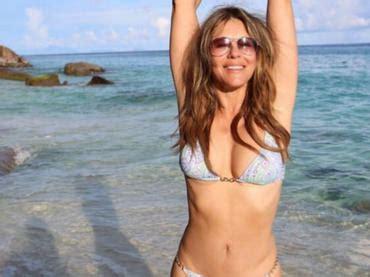 photo sxs vomen elizabet 2017 elizabeth hurley se luce en bikini a los 52 a 241 os el