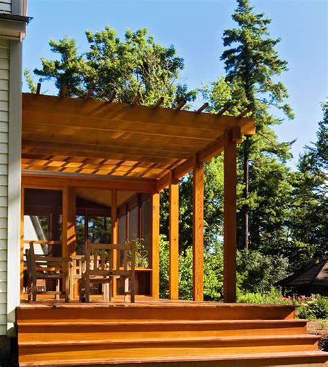 Cedar Porch custom cedar porch vermont contractor home of reap