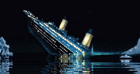 titanic boat sinking gif titanic sinking gifs tenor