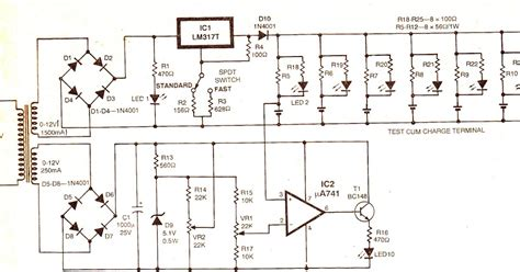 simple battery charger wiring diagram 28 images wiring