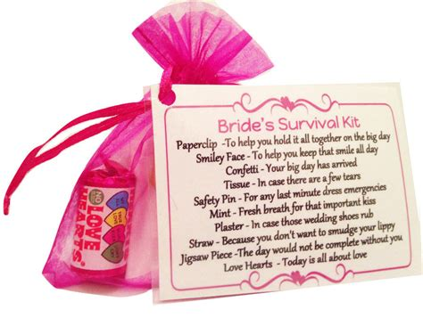 Wedding Gift Value Uk by Survival Kit Keepsake Novelty Gift Wedding Day