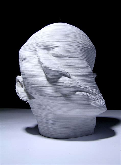 How To Make Paper Sculptures - li hongjun topographic paper sculptures