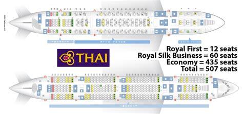 thai air a380 seat map thai airways a380 royal class tg 921 frankfurt fra