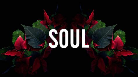 soul word  green  red leaves background hd dope