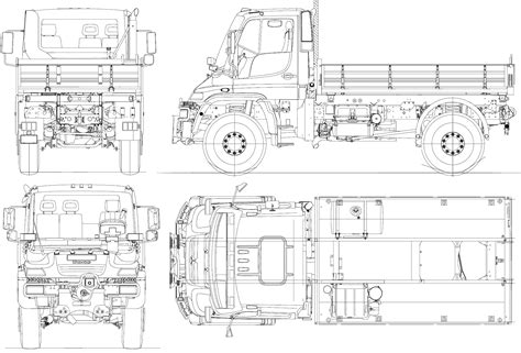 Air Force One Layout Interior unimog u500 2008 blueprint download free blueprint for