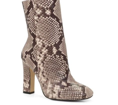 shoes boots booties snake print snake skin trendy