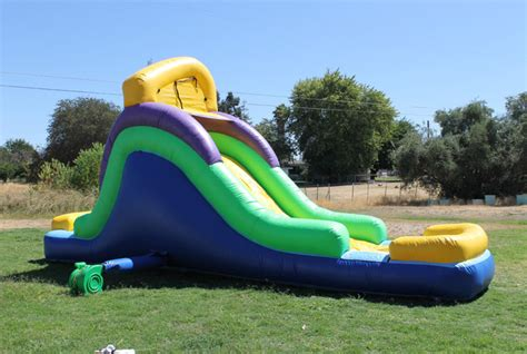 Backyard Water Slides by 14 Ft Backyard Water Slide