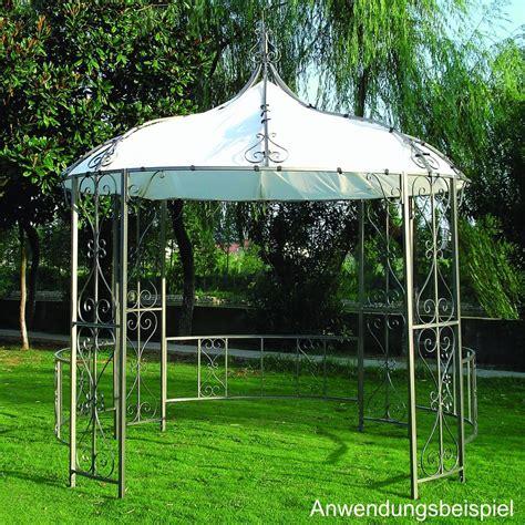 pavillon rund 3m ersatzdach pavillon burma weiss 300cm rund pvc ebay