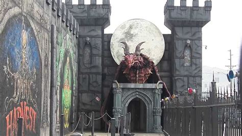 dragons house of horror nightmare on 13th haunted house 2013 dragon youtube