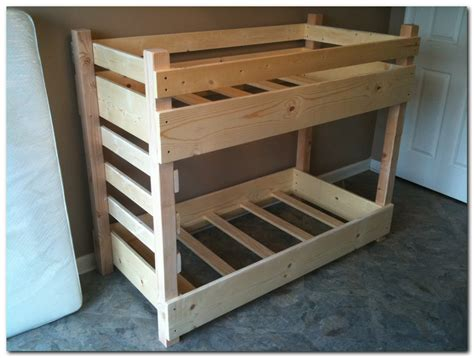 Toddler Size Bunk Bed Buy Order Customize A Crib Size Toddler Bunk Bed By Lil Bunkers