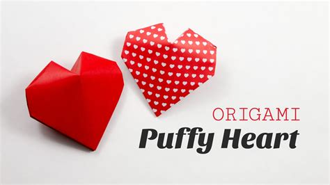How To Make Small Origami Hearts - origami 3d paper my