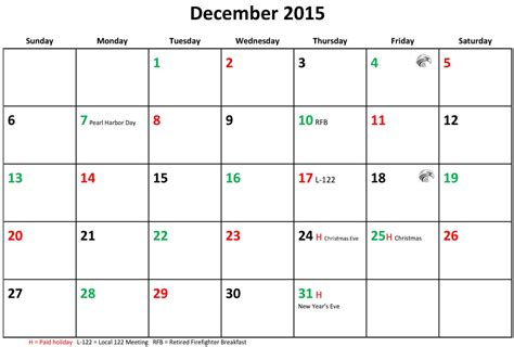 printable december holiday calendar 2015 december 2015 calendar holiday pictures