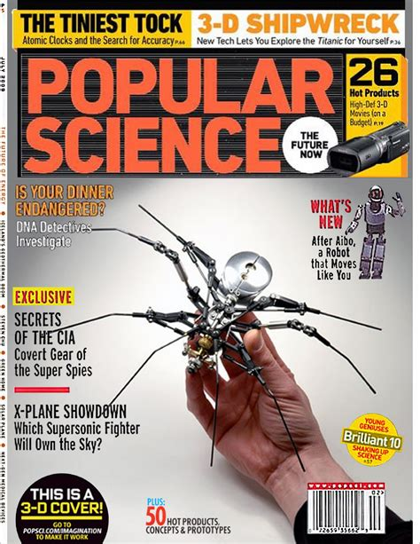 Science Magazine Cover Letter bob schrupp s popular science magazine