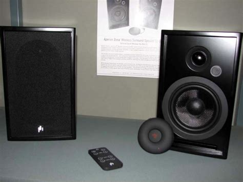 aperion audio zona wireless surround speaker look