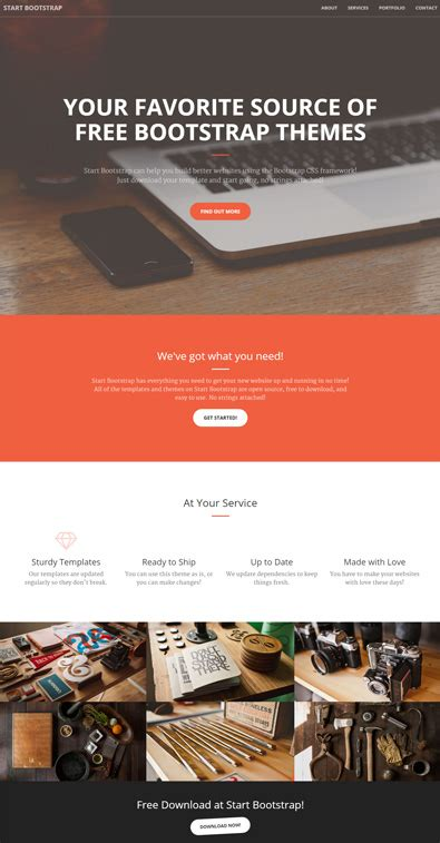 bootstrap themes discount code free bootstrap template for creatives free templates online