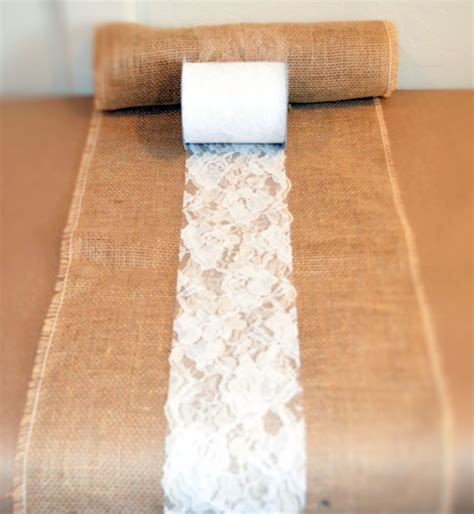 how to a table runner diy rustic wedding ideas for your wedding lace