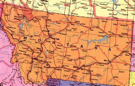 map montana county montana maps