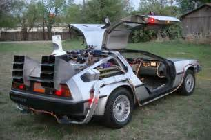 custom built back to the future delorean for sale