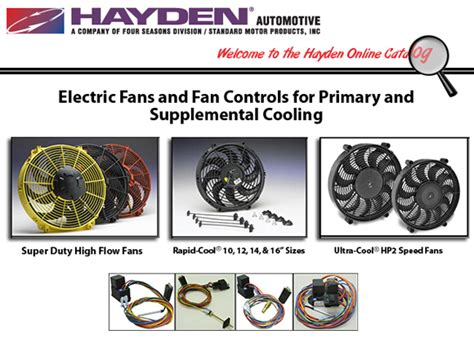 100 hayden electric fan wiring diagram hayden
