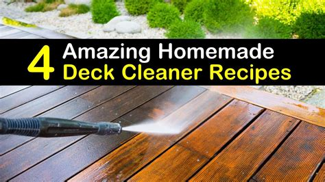 diy deck cleaner examples  forms