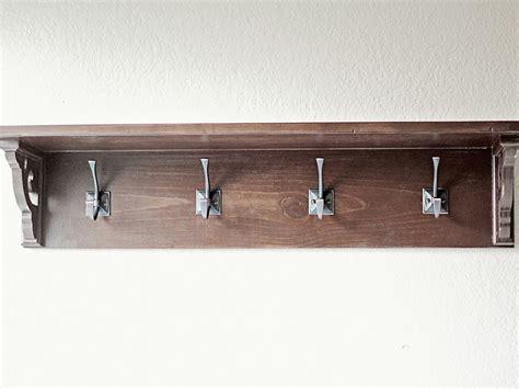 bathroom shelf with towel hooks diy bathroom towel shelf home design ideas