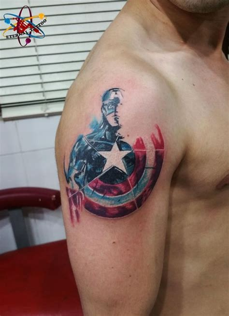 marvel tattoos 40 mightiest marvel comic designs