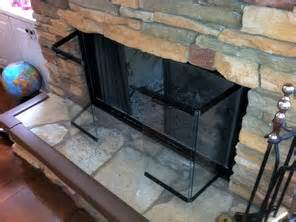 how to clean glass fireplace doors in a few easy steps