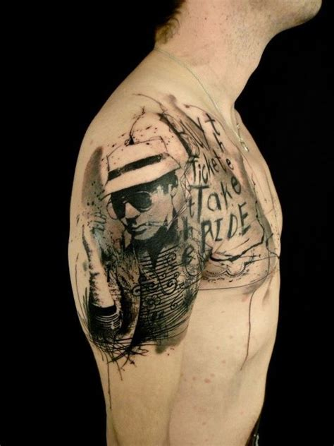 hunter s thompson tattoos 17 best images about s thompson on