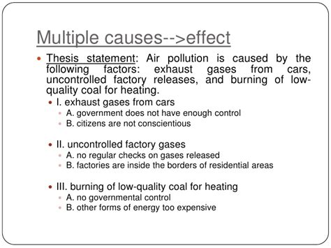 How To Write Cause And Effect Essay by Essays About Air Pollution Causes Effects Writefiction581 Web Fc2
