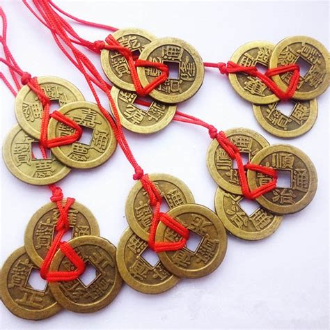 feng shui coins feng shui coins hanger 3 coin my feng shui store