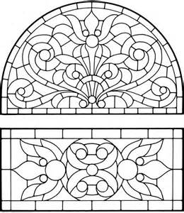 coloring pages stained glass coloring home - Stained Glass Coloring Pages