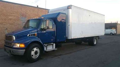Box Truck With Sleeper For Sale by Freightliner Sterling Acterra M2 Expeditor Hotshot 24ft