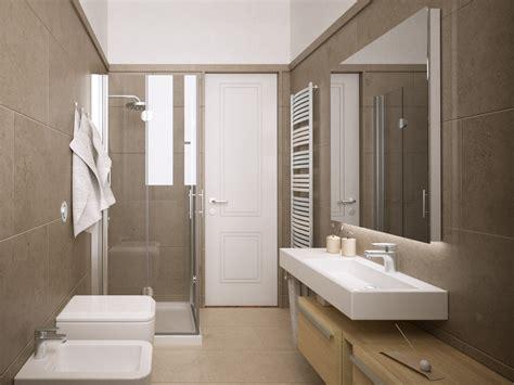piastrelle bagno firenze 3digit bagno moderno minimale gres crema rendering firenze