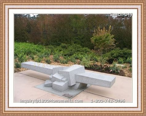 cemetery benches prices bench headstones