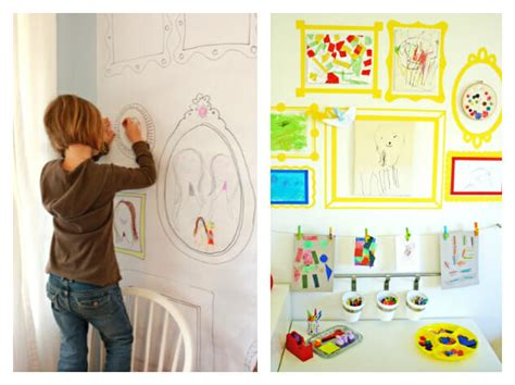 10 diy kids art displays to make them proud kidsomania 21 ways to display kids artwork honor your children s