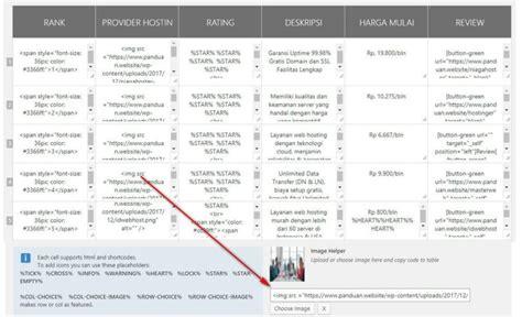 cara membuat wordpress jadi keren cara membuat tabel wordpress responsive keren dengan gambar