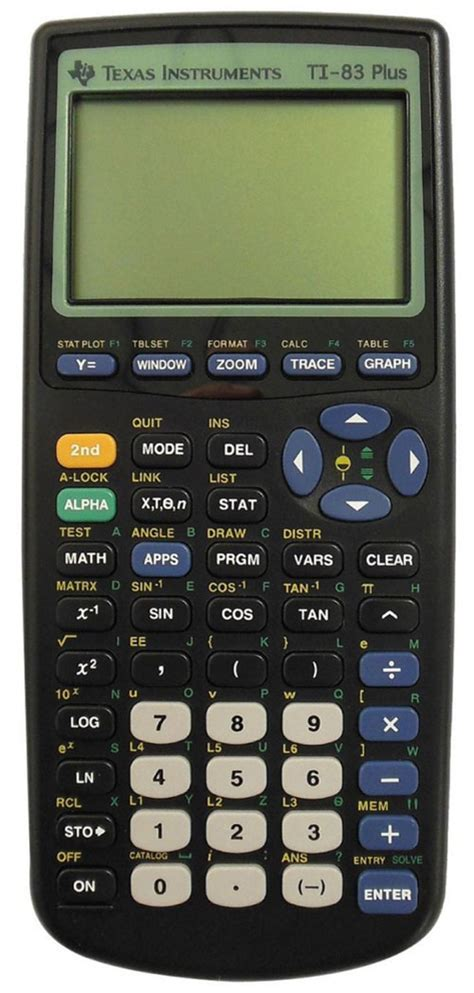calculator calculus texas instruments ti 83 plus scientific graphing