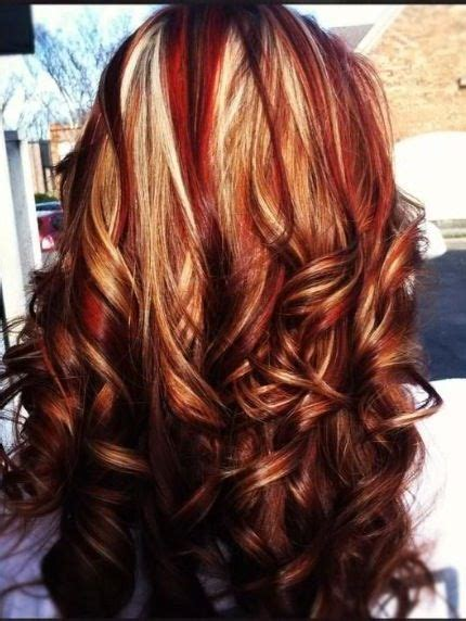 highlights and lowlights for red hair red low lights hair pinterest brown hair colors