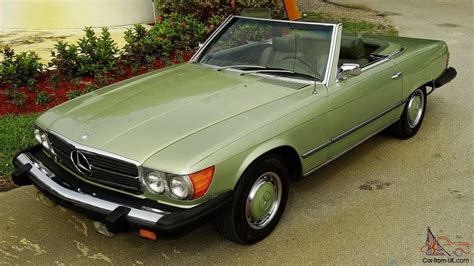 green mercedes antique collectible rare mercedes sl find green code