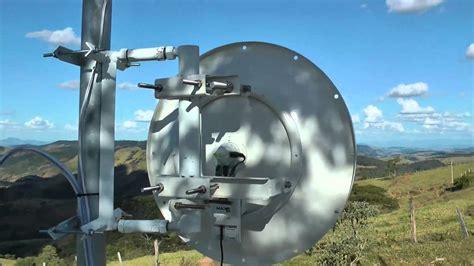 Antena Ubiquiti Dicas Truques Nivelando 100 Uma Antena Dish Da