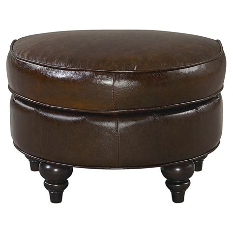 bassett leather ottoman bassett ottoman furniture table styles
