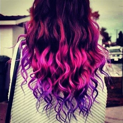 pink and purple ombre pink and purple ombre hair hair make up pinterest
