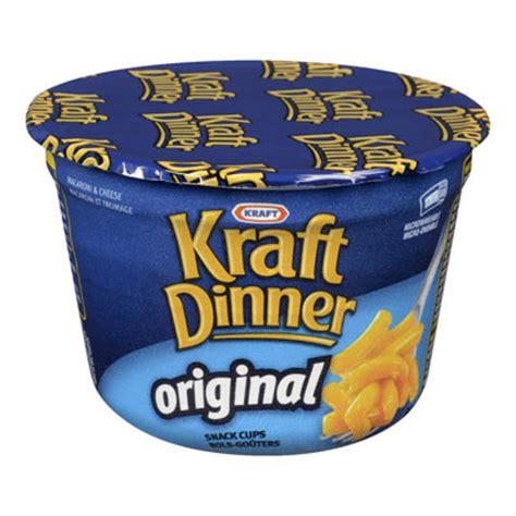 Dzinner Original kraft dinner cup original